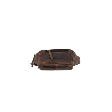 Scippis Fanny Pack Genua Brown