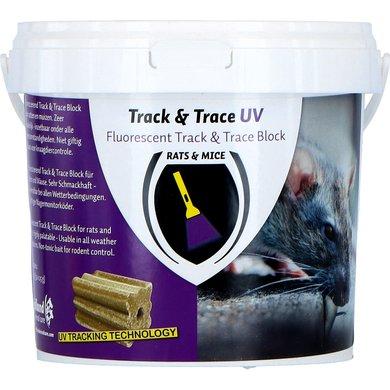 Track & Trace Block Fluo Rat en Muis Emmer 800gr