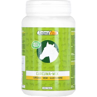 Animavital Curcuma Bewegingsmix met Msm & Glucosamine 1kg