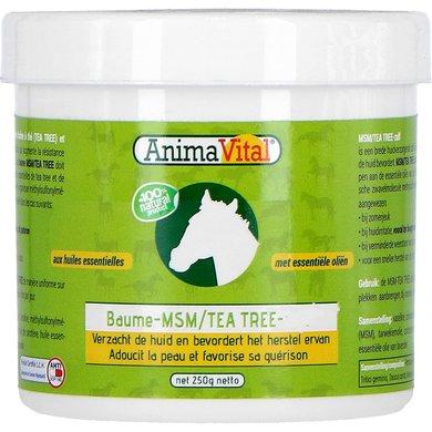 Animavital MSM/Tea Tree Zalf 250gr