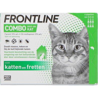 Frontline Flea Treatment Combo Spot-On Cat >1kg 6 Pcs