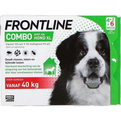 Frontline Combo Spot-on Hond XL 40-60kg 6 Pipetten