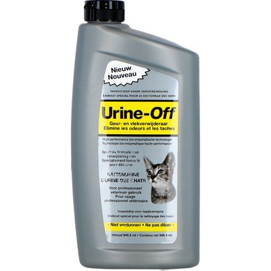 Urine Off Kat Tapijtspray incl Inspuitdop 946ml