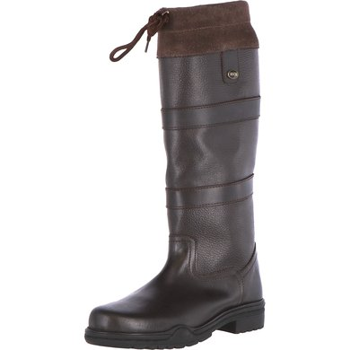 HKM Outdoorboots Belmond Teddy Dark brown