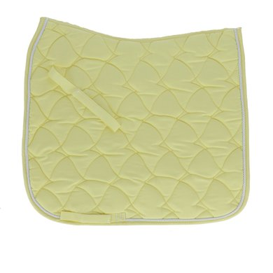 HKM Zadeldek Cassandra Softice Dressuur geel/zilver