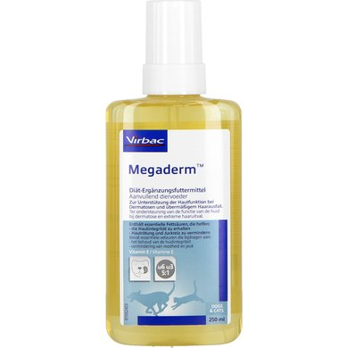 Virbac Megaderm Hond/Kat 250ml