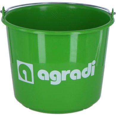 Agradi Emmer met Logo Groen 12L