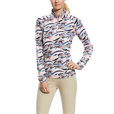 Ariat Longsleeve Lowell 2.0 1/4 Zip Woman Flow Print S