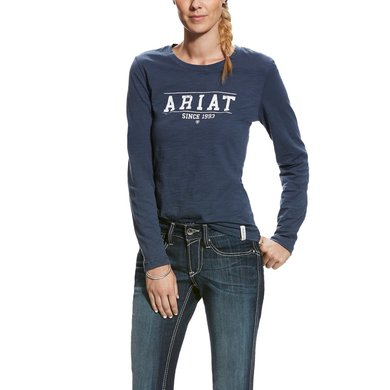 Ariat Longsleeve Logo Deep Tide Woman Deep Tide L