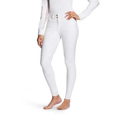 Ariat Rijbroek Tri Factor Dames Grip Knee Patch White