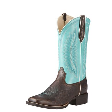 Ariat Womens Quickdraw Legacy Bnrdy Brown