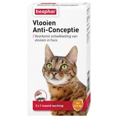 Beaphar Flohmittel Verhütung Katze Klein bis 4,5kg 3 St