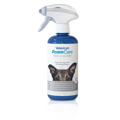Vetericyn Foamcare Medicated Shampoo 473ml