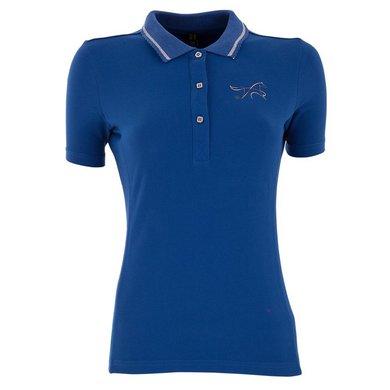 BR Poloshirt Maura Damen Kurze Ärmel Classic Blue L