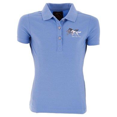 BR Poloshirt 4-Ever Horses Milli Kids Ice Blue 140