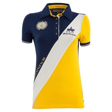 BR Poloshirt Catorce Dames Medieval Navy