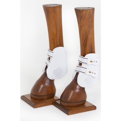Back on Track Royal Fetlock Boots White
