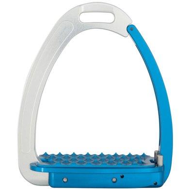 BR Veiligheidsbeugels Venice Adult Zilver/Blauw 12.5cm