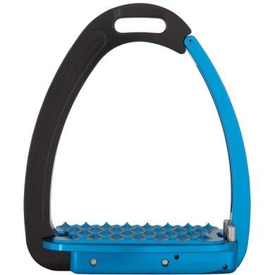 BR Veiligheidsbeugels Venice Adult Zwart/Blauw 12.5cm