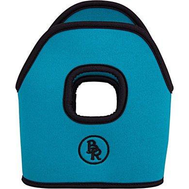 BR Stijgbeugelhoesjes Neopreen Turquoise 12cm