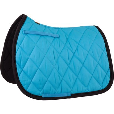 BR Saddlepad General Purpose Event Cotton with Luxury Blue Jay