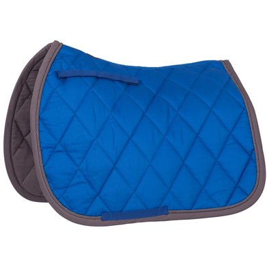 BR Saddlepad General Purpose Event Cotton with Luxury Princess Blue
