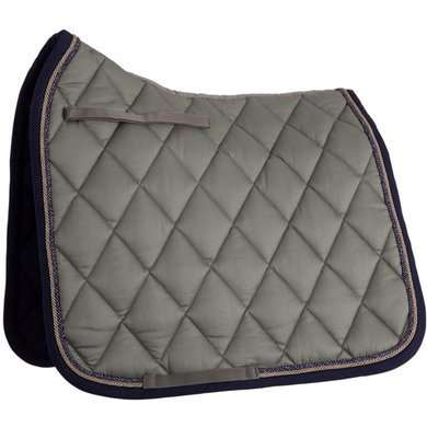 BR Tapis de Selle de Dressage Event Coton Sea Spray Cob