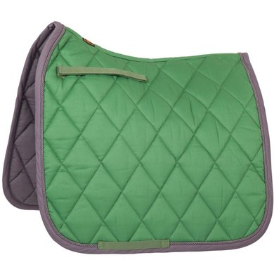 BR Saddlepad Dressage Event Luxe 400g BrightGreen Full