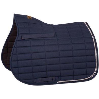 BR Saddlepad General Purpose Glamour Chic Blue