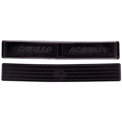 Acavallo Curb Chain Guard Soft Gel Black