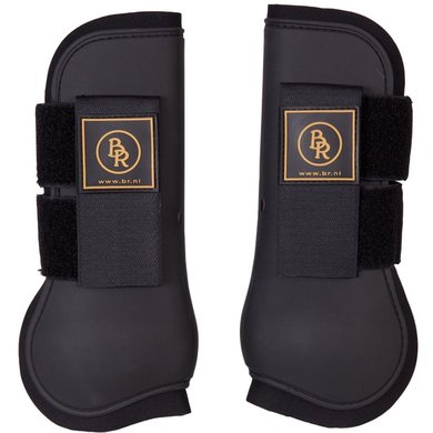 BR Tendon Boots Event PU with Neoprene Lining Black