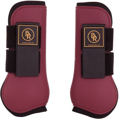 BR Tendon Boots Event PU w/Neoprene Lining Beet Red