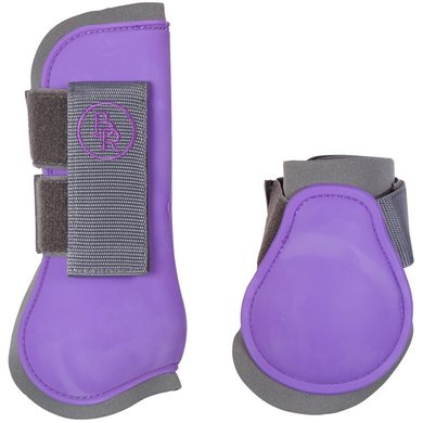 BR Peesbeschermers & Strijklappen Set Mel M Grey/Purple Full