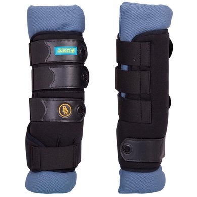 BR Leg Protection Aer Front Legs Black