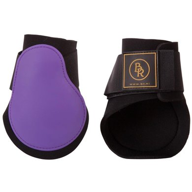 BR Fetlock Boots Event PU with Neoprene Purple