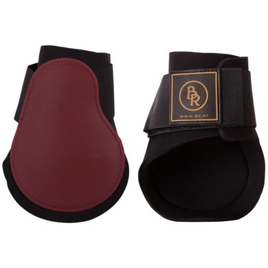 BR Fetlock Boots Event PU with Neoprene Red Maple