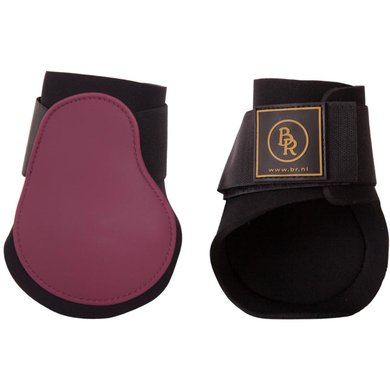BR Fetlock Boots Event with Neoprene Lining Beet Red