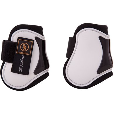 BR Fetlock Boots Xcellence White/Stone