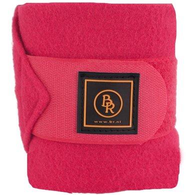 BR Bandages/polo Event Fleece 3 Mtr.set/4 Luxe Tas Framboise