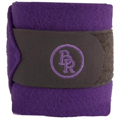BR Bandages/polo Melange Exclusive 3m 4st M Grey/Purple Full
