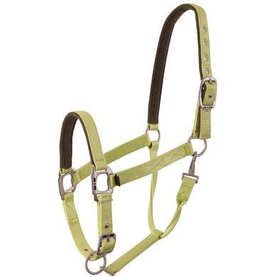 BR Halster Event Nylon Dubbel Verstelbaar Lime Pony