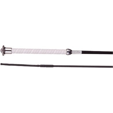 Premiere Dressage Whip Gemini Anti-slip Black/White