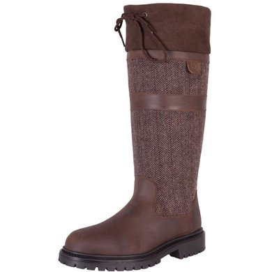 BR Outdoorlaars Country Twill Waterdicht Bruin