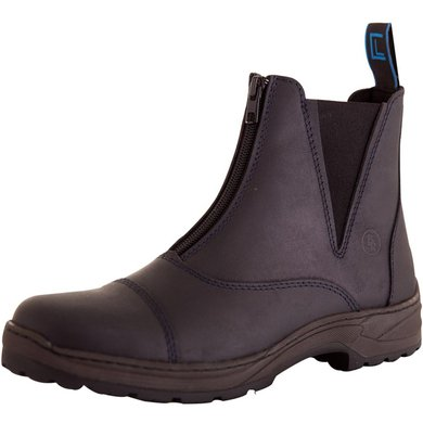 BR Stable Boots CL Durley with Zipper Black