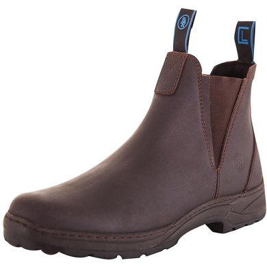 BR Stable Boots CL Sturdy with Elastic Brown