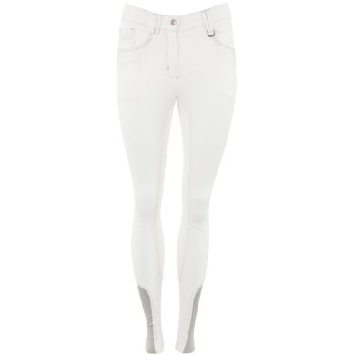 BR Breeches Maggy 3/4 Microfiber White