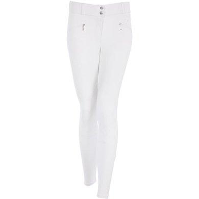 BR Pantalon de Concours Copenhagen Genouillères Blanc