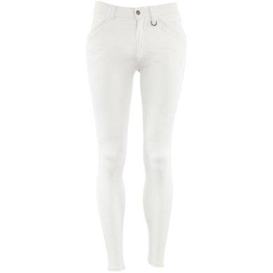 BR Breeches Milan Silicon Knee Pads White