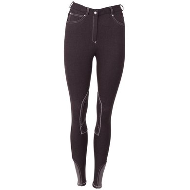 Premiere Breeches Aster II Knee Pads Black Denim
