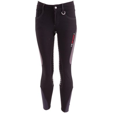 BR Breeches Mika Silicon Seat Black